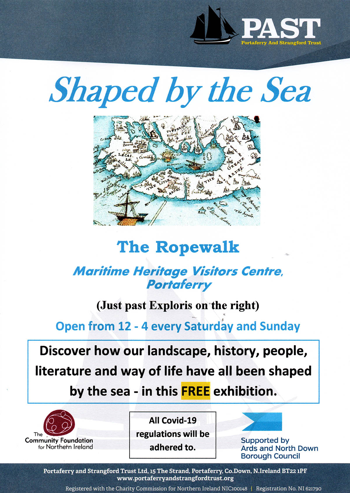 Shaped by the Sea Exhibition Poster