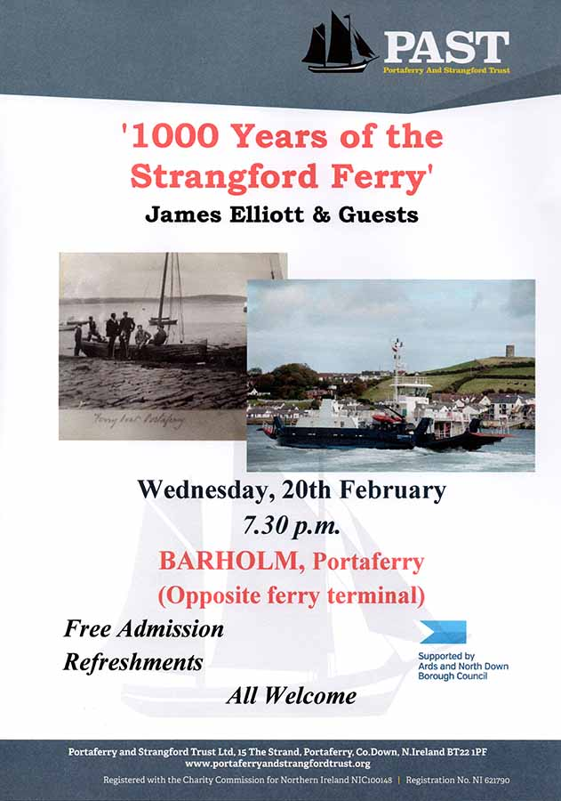 1000 Years of the Strangford Ferry Flyer